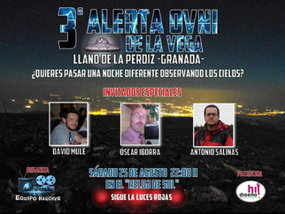 3º Alerta Ovni de la Vega 2018
