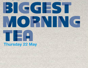 We're hosting Australia's Biggest Morning Tea