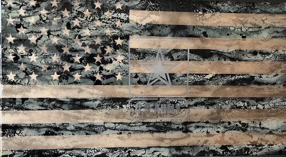 Army Resin Flag 32X60