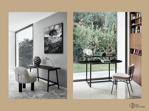 Thuiswerken voor gevorderden, part II, een stijlvol bureau