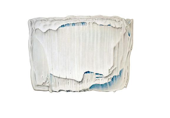 Sans titre, 2010 © Kacem Noua. Acrylique/contre plaqué marine, 280 x 153 cm (collection privée) Exposition Artiste galerie d'art contemporain Lyon Croix-Rousse Regard Sud