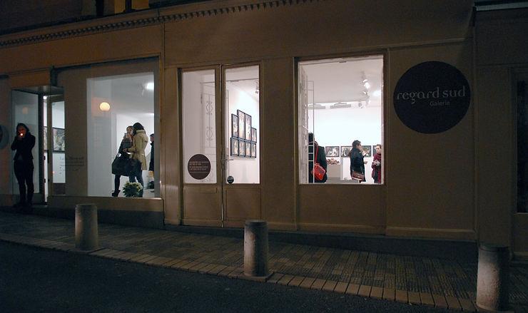 galerie d'art contemporain Lyon Croix-Rousse Regard Sud
