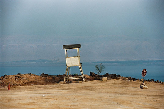 Traces.Série Le Jourdain-Mer Morte. Jordanie 2006 © Farida Hamak Exposition Artiste galerie d'art contemporain Lyon Croix-Rousse Regard Sud