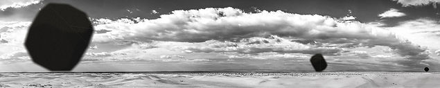 Anamnesis II. Tirage photographique pigmentaire sur papier archival, 200cm x 40cm, 2015 © Haythem Zakaria Exposition Artiste galerie d'art contemporain Lyon Croix-Rousse Regard Sud