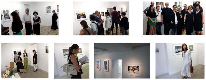 Vernissage Exposition Artiste galerie d'art contemporain Lyon Croix-Rousse Regard Sud Farida Hamak