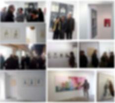 Vernissage Khaled Takreti Exposition Artiste galerie d'art contemporain Lyon Croix-Rousse Regard Sud