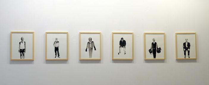 Exposition Artiste galerie d'art contemporain Lyon Croix-Rousse Regard Sud Khaled Takreti