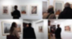 Vernissage Exposition Artiste galerie d'art contemporain Lyon Croix-Rousse Regard Sud Mabeye Deme