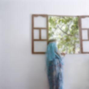Sur les traces, Oultem, Bou Saada, Algérie 2014. 50cm x 50cm ©Farida Hamak Exposition Artiste galerie d'art contemporain Lyon Croix-Rousse Regard Sud