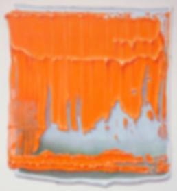 Sans titre 2012 © Kacem Noua. Acrylique sur contreplaqué marine, 46cm x 49cm Exposition Artiste galerie d'art contemporain Lyon Croix-Rousse Regard Sud