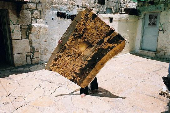 Traces. Série l'Impensable. Bethleem 2005 © Farida Hamak Exposition Artiste galerie d'art contemporain Lyon Croix-Rousse Regard Sud