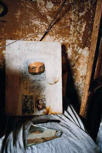 Traces. Série Palais Dahesch. Borj Al Murr Beyrouth 2004 © Farida Hamak Exposition Artiste galerie d'art contemporain Lyon Croix-Rousse Regard Sud