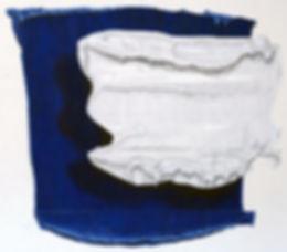 Sans titre 2012 © Kacem Noua. Acrylique sur contreplaqué marine, 150cm x 160cm Exposition Artiste galerie d'art contemporain Lyon Croix-Rousse Regard Sud
