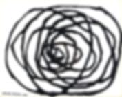 labyrinthe du temps  2017 20x25 cm  acry