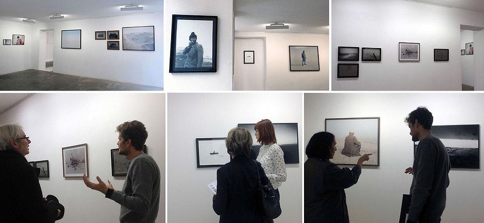 Vernissage Gregory Eloy Exposition Artiste galerie d'art contemporain Lyon Croix-Rousse Regard Sud