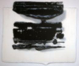 Sans titre 2012 © Kacem Noua. Acrylique sur contreplaqué marine, 96cm x 80cm Exposition Artiste galerie d'art contemporain Lyon Croix-Rousse Regard Sud
