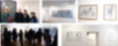 Vernissage Exposition Artiste galerie d'art contemporain Lyon Croix-Rousse Regard Sud Lahcen Khedim