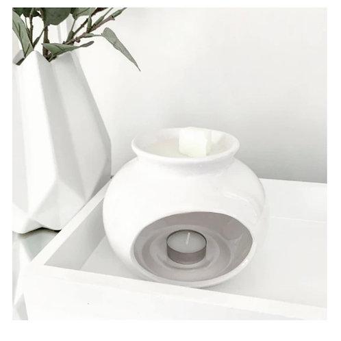 Sofia Gloss White Ceramic Burner