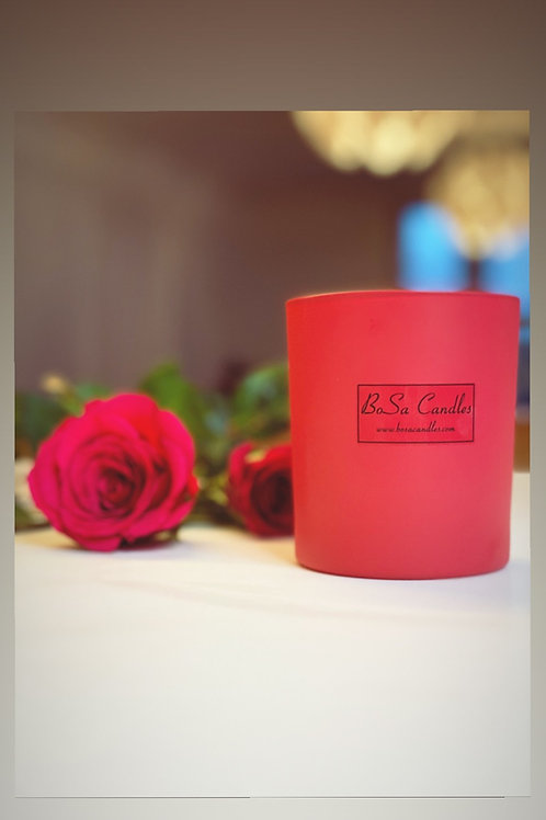 Fuschia Pink everyday candle