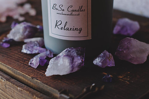 Amethyst Self Care Every Day candle