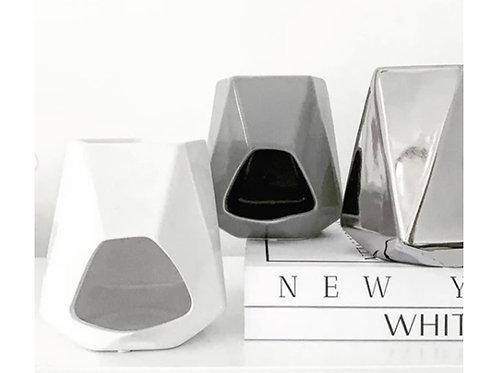 Aspen Gloss White Ceramic Burner