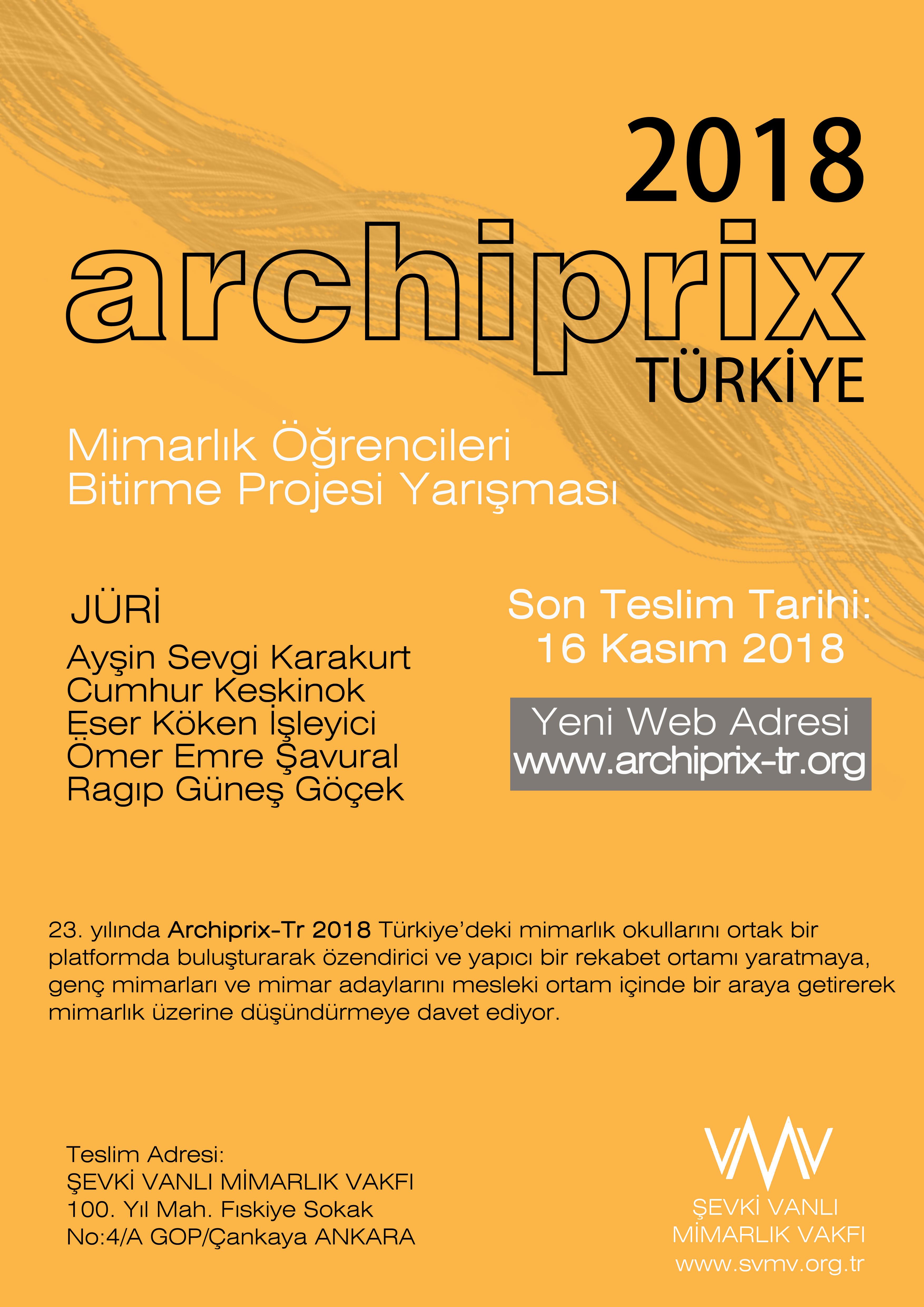 Archiprix-Tr 2018 Afis