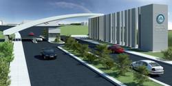 Karatekin University Campus Gate