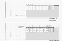 siteplan and ground level plan