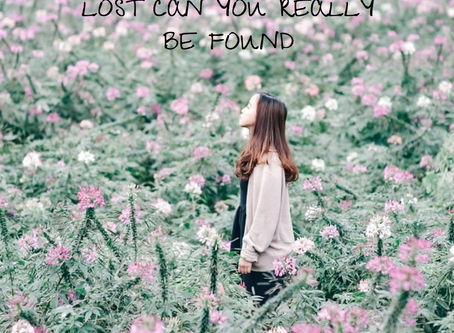 Finding yourself, when you feel lost