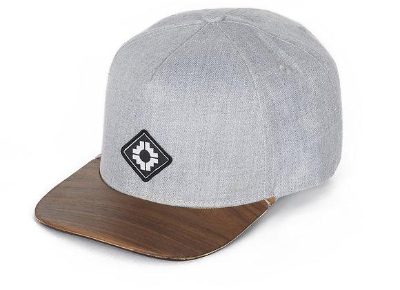WOOD BRIM HAT