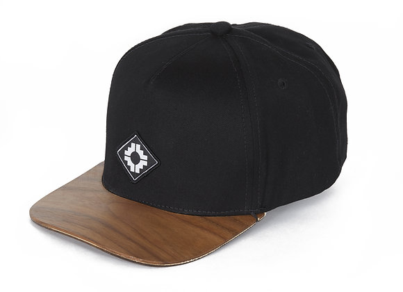 WOOD BRIM HAT