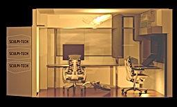 東京都 武蔵野市 sculpi-tech scupitech  スカルピテック オフィス CG 3dsmax vray 画像