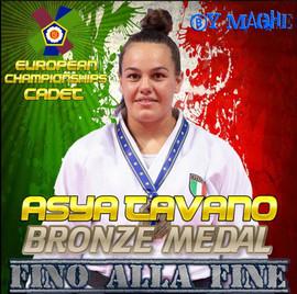 ASYA Bronze Medal Europe Cap CADET.JPG