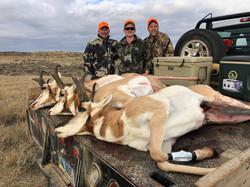 Guided Wyoming Antelope Hunts