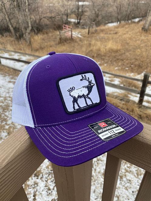 Purple | HSO Elk Hat