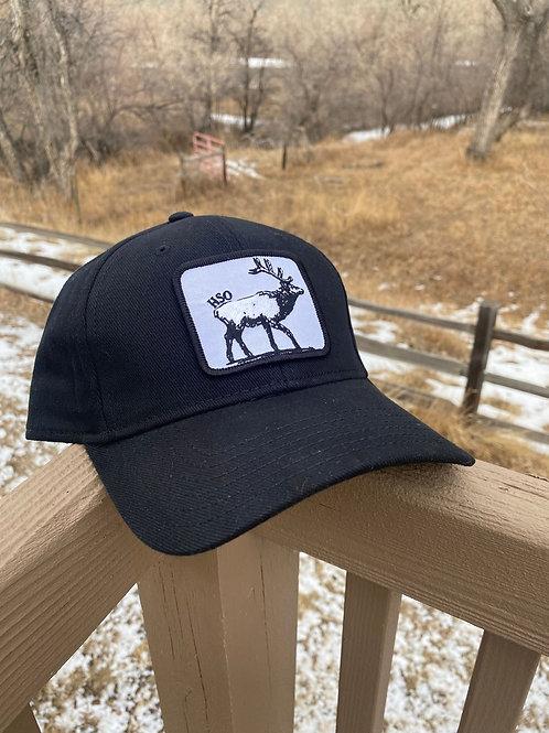 Black HSO Elk Hat