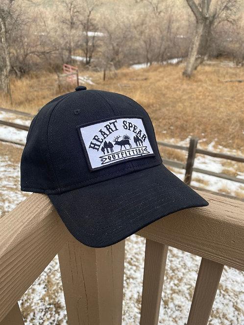 Black Logo Patch Hat