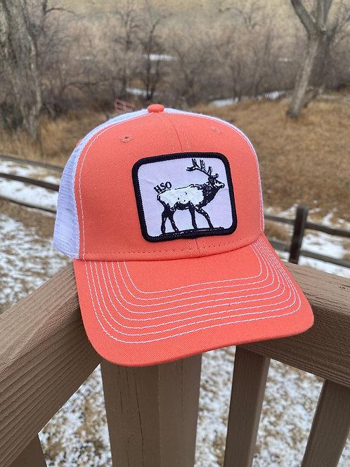 Coral HSO Elk Hat