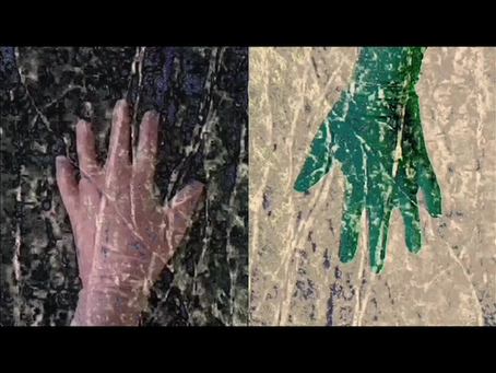 Deep Time Hybrid (Lichen meets) - By Sue Parr