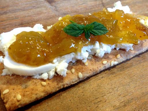 Ripe figs + Meyers Lemon + Cognac = Pure Joy