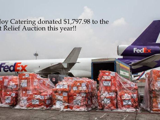 Pure Joy's Direct Relief Donation