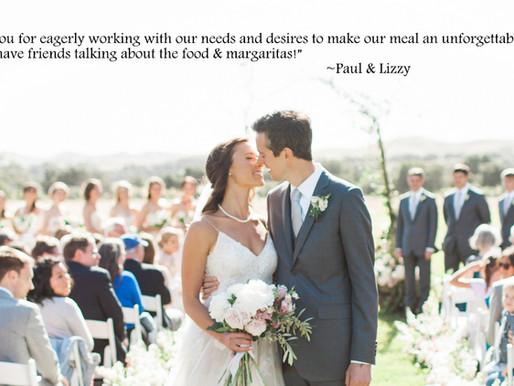 Paul & Lizzy's Thank You Thursday!