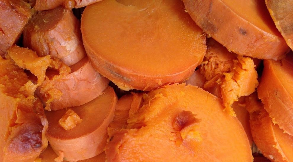 purejoycatering sweet potato souffle