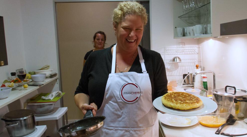 Voila! Ellen Reid makes a perfect Tortilla