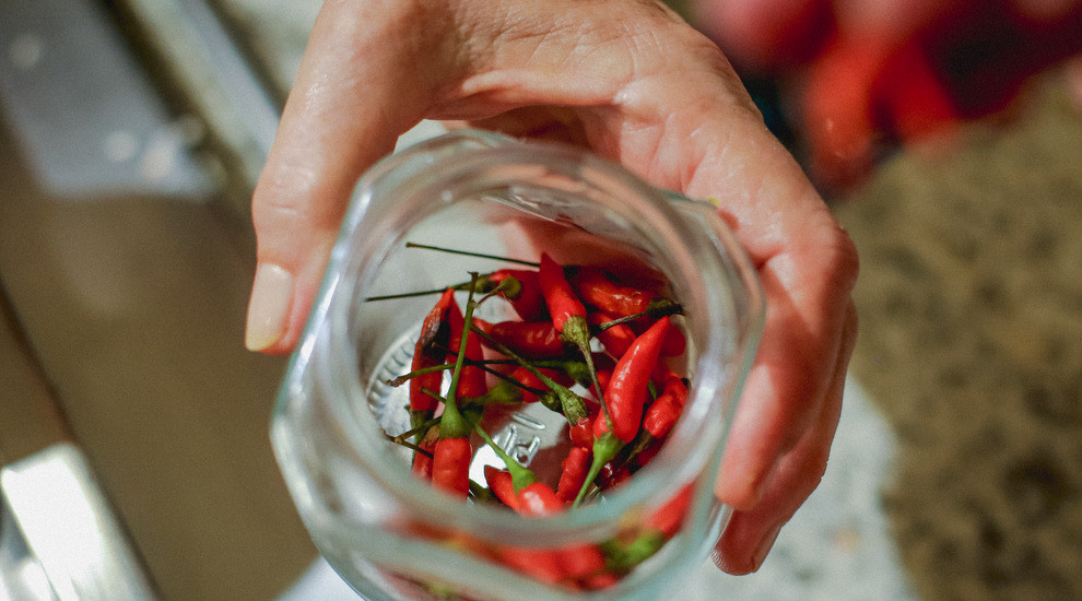 Brazilian love chilies, did you know thats where tabasco originated?