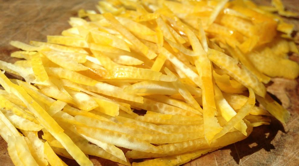 meyers lemon zest