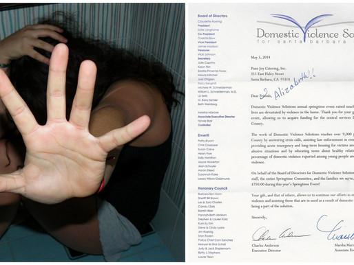 Domestic Violence Donation