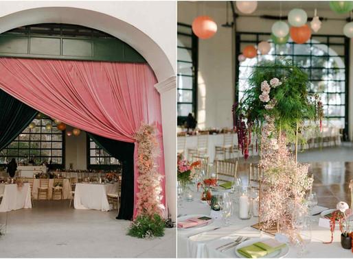 An Elegant Wedding at the Santa Barbara Classic Chase Palm Park Carousel Building