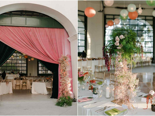 An Elegant Wedding at the Santa Barbara Classic Chase Palm Park Carousel Building