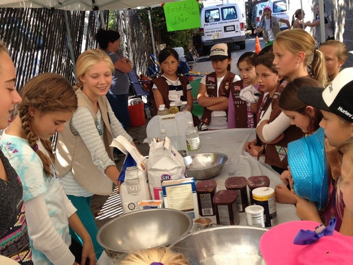 Pure Joy Kitchen Time with Santa Barbara Girl Scouts